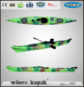 New Arrival Single Sit in Sea Kayak with Adjustable Pedals pictures & photos