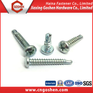 Phillips Cross Pan Head Self Drilling Wooden Screws (ST2.2-ST9.5) pictures & photos