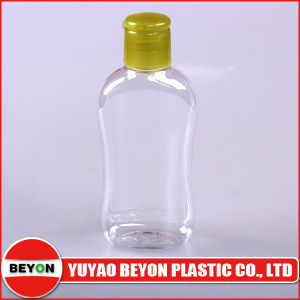 110ml Plastic Pet Waist Bottle with Flip Top Cap pictures & photos