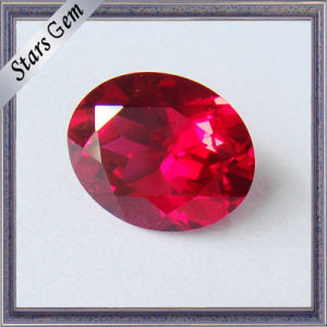 Brilliant Cut Pigeon Blood Red Corundum Lab Ruby for Jewelry pictures & photos