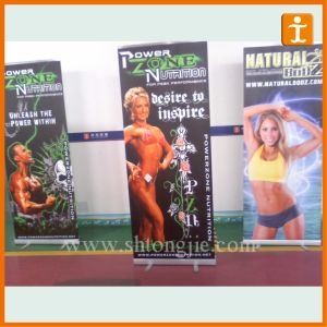 Double Sided Roll up Banner Stand for Trade Show (TJ-S0-54) pictures & photos