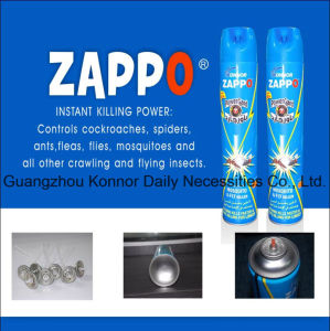 Zappo 400ml Household Aerosol Insecticide pictures & photos