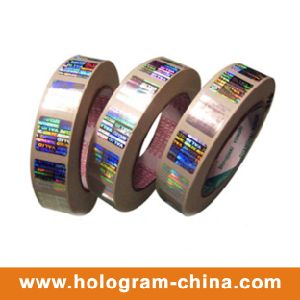Roll Transparent Hot Stamping Holographic Overlay pictures & photos