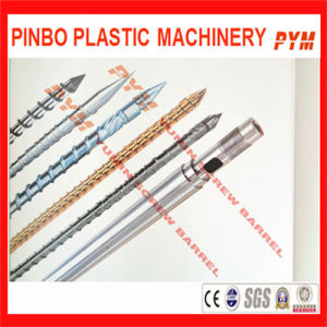 Plastic Injection Screw Barrel in Zhejiang (INJECTION SCREW BARREL) pictures & photos