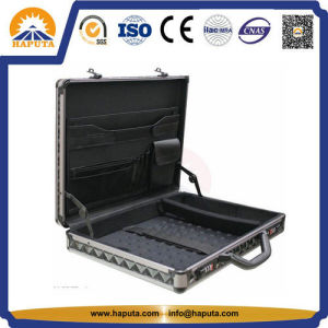 Carrying Aluminum Business Laptop Cases with Pockets (HL-2203) pictures & photos