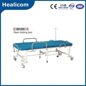 Dp-Z05 Medical Equipment Portable Steel Folding Bed pictures & photos