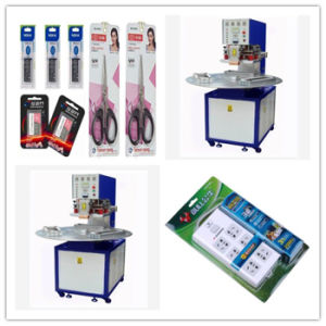Ce Approved, Three Station High Frequency Plastic Blister Packing Machine for PVC Blister Package Packing, From China pictures & photos