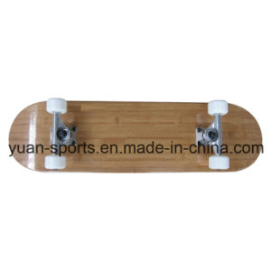High Quality Bamboo Skateboard pictures & photos