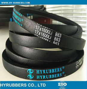 Factory Wholesales Cheap Price Rubber V Belt, All Types of V Belt pictures & photos