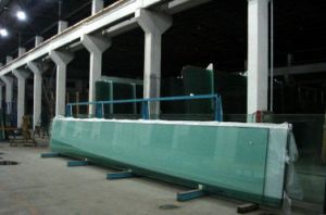 Clear Tinted Tempered Glass for Construction pictures & photos