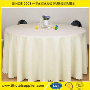Wedding Polyester Round Table Cloth for Tables China pictures & photos