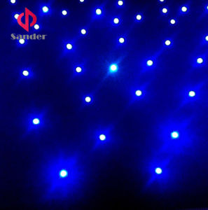 RGB 3 in 1 Colour Twinkling Starlit LED Star Cloth Curtain for Event Show pictures & photos