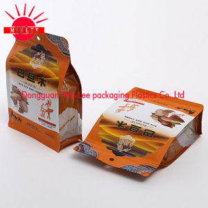 Flat Bottom Gusset Pouch/Square Bottom Gusset Pouch/ Stand up Plastic Bag for Coffee, Snack, Food pictures & photos