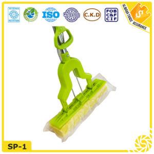 Cleaning Tool Telescopic Handle PVA Sponge Mop pictures & photos