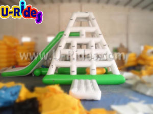 Hot Inflatable Water Sports Tower with Slide pictures & photos