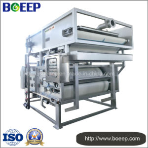 New Type Sludge Belt Dehydrator for Domestic Sewage Treatment pictures & photos