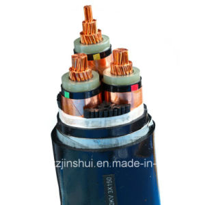 Henan Jinshui Group Mv Electric 3 Core XLPE Armoured Power Cable pictures & photos
