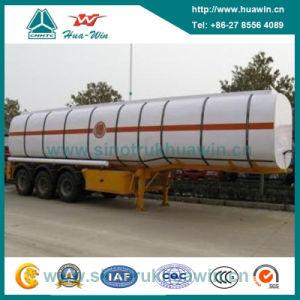 3 Axle 38cbm BPW Axle Fuel Tanker Semi Trailer pictures & photos