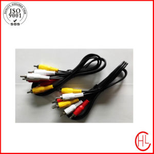 Wholesale Price RCA Cable with Environmental Friendly PVC Jacket pictures & photos