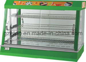 Curved Glass Commercial Display Warmer pictures & photos