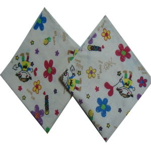 Super Soft 100% Cotton Reusable Printed Baby Muslin Cloth pictures & photos