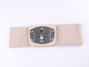 Customize Fashion Buckles Belts and Women Cotton Elastic Belt pictures & photos