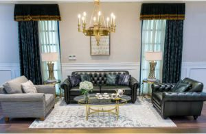 Timeless Classic Fabric & Leather Sofa Combination (BM-4) pictures & photos