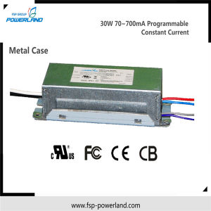 30W Programmable Constant Current LED Driver with Metal Case pictures & photos