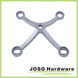 Polished Stainless Regular Duty 4-Arms Hand Shape Column Mount Spider Fitting SPD3004 pictures & photos