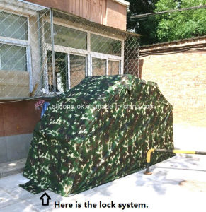 China movable motorcycle shelter wholesale waterproof - Motorcycle foldable garage tent cover ...