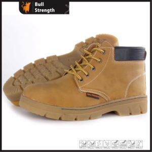Leather Safety Boot with Rubber Sole (SN5410) pictures & photos