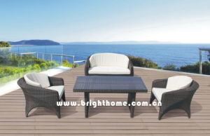 New Garden Sofa Set - Wicker Outdoor Furniture (BP-588D) pictures & photos