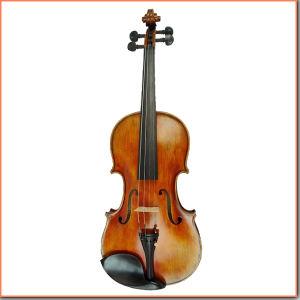 High Grade Master Level Antique Finish Violin pictures & photos