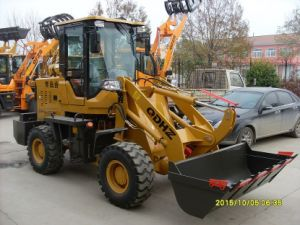 Africa Hot-Sell Mini Wheel Loader/Front Loader (CE, ISO Certificate)