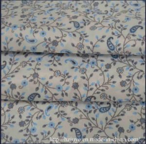 Poly-Viscose Pigment Printed Lining Fabric for Garments pictures & photos