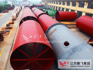 4.3*64m Rotary Kiln in Cement Production Line pictures & photos