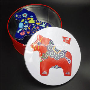 Horse-Shape Food Tin Box (I002-V1) pictures & photos