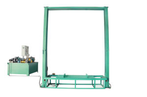 Hydraulic Gantry Lift for Hot Press pictures & photos