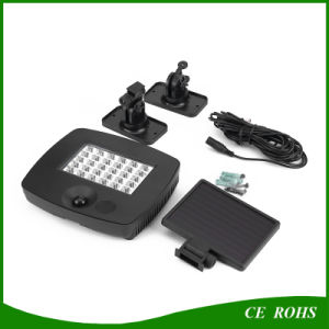 New Adjustable Panel 30 LED Solar Garden Spotlight Infrared Outdoor LED Lighting for Garage pictures & photos