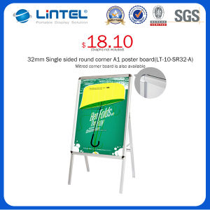 Double Sided Banner Stand Folding Poster Board (LT-10-SR-32-A) pictures & photos