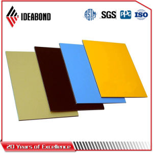Ideabond Polyester Aluminum Composite Panel (AE-30A, Emerald Silver) pictures & photos