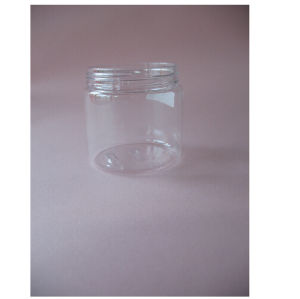 200ml Clear Pet Single Wall Jar Without Closure pictures & photos