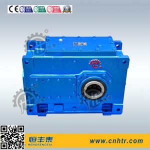 Flender Parallel Shaft Helical Bevel Industrial Gearbox with Horizontal Mounted pictures & photos