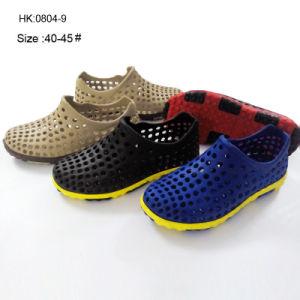 Latest Men Model EVA Garden Shoes and EVA Clogs (HK0804-9) pictures & photos