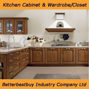 High Quality Kitchen Cabinet with Western Europe Style pictures & photos