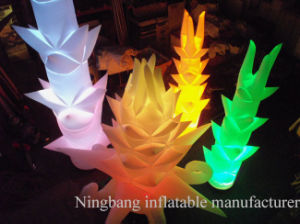 Hot Sell Inflatable Flower Plant LED Lighting Wedding Decoration for Party