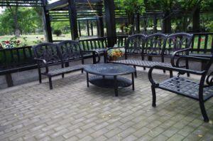 Sofa Set Outdoor Cast Aluminum Furniture pictures & photos
