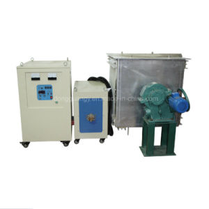 IGBT Portable Induction Melting Furnace Melting 1~200kg Metal pictures & photos