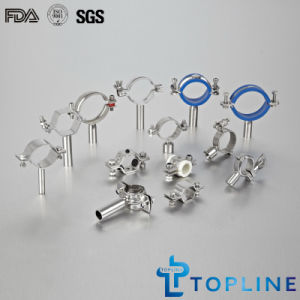 Sanitary Stainless Steel Pipe Clips pictures & photos