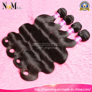 Double Weft Raw Human Hair/ Malaysian Hair Weave (QB-MVRH-BW) pictures & photos